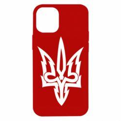 Чохол для iPhone 12 mini Acute coat of arms of Ukraine