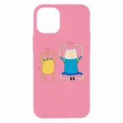 Чохол для iPhone 12 mini Adventure time