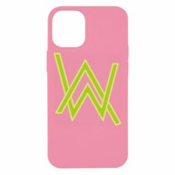 Чехол для iPhone 12 mini Alan Walker neon logo