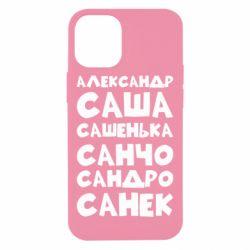Чохол для iPhone 12 mini Олександр