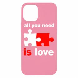 Чохол для iPhone 12 mini All You need is love