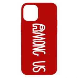 Чохол для iPhone 12 mini Among Us Logo