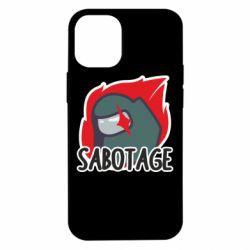 Чохол для iPhone 12 mini Among Us Sabotage