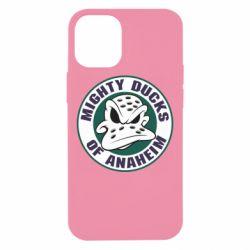 Чехол для iPhone 12 mini Anaheim Mighty Ducks Logo