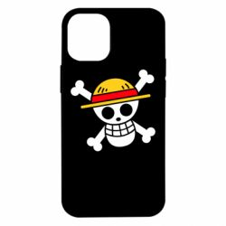 Чохол для iPhone 12 mini Anime logo One Piece skull pirate