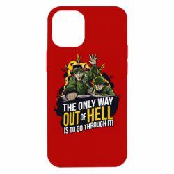 Чехол для iPhone 12 mini Армия