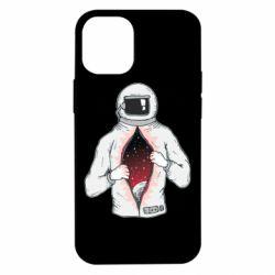 Чехол для iPhone 12 mini Astronaut with spaces inside