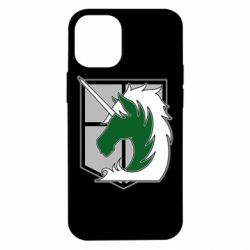 Чохол для iPhone 12 mini Attack on Titan symbol