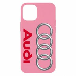 Чохол для iPhone 12 mini Audi 3D Logo