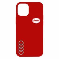 Чехол для iPhone 12 mini Audi Logo