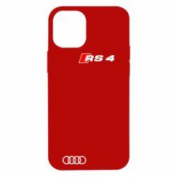 Чехол для iPhone 12 mini Audi RS4