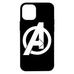 Чохол для iPhone 12 mini Avengers logo