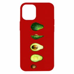 Чехол для iPhone 12 mini Avocado set