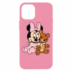 Чохол для iPhone 12 mini Baby minnie and bear