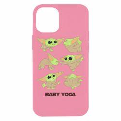 Чехол для iPhone 12 mini Baby Yoga