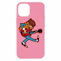 Чехол для iPhone 12 mini Back to the Future Marty McFly