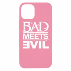 Чехол для iPhone 12 mini Bad Meets Evil