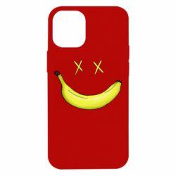 Чехол для iPhone 12 mini Banana smile