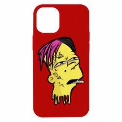 Чехол для iPhone 12 mini Bart as Lil Peep