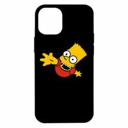 Чехол для iPhone 12 mini Барт Симпсон