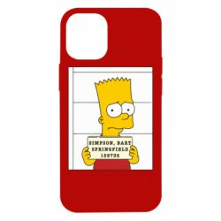 Чехол для iPhone 12 mini Барт в тюряге