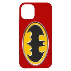 Чехол для iPhone 12 mini Batman Gold Logo