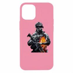 Чехол для iPhone 12 mini Battlefield Warrior