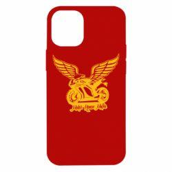 Чохол для iPhone 12 mini Байк з крилами