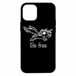 Чехол для iPhone 12 mini Be free unicorn