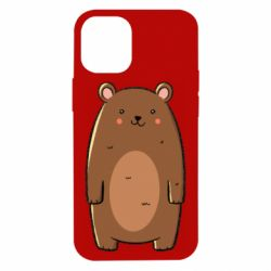 Чехол для iPhone 12 mini Bear with a smile