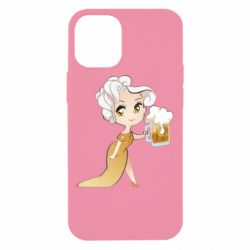 Чохол для iPhone 12 mini Beer girl