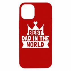 Чехол для iPhone 12 mini Best dad in the world