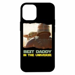 Чехол для iPhone 12 mini Best daddy mandalorian