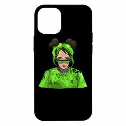 Чохол для iPhone 12 mini Billie Eilish green style