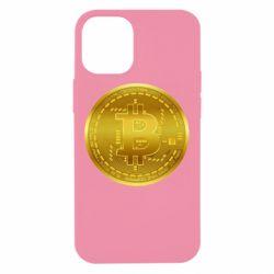 Чохол для iPhone 12 mini Bitcoin coin
