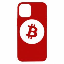 Чохол для iPhone 12 mini Біткоин лого