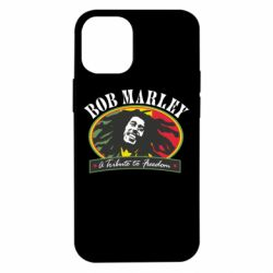 Чехол для iPhone 12 mini Bob Marley A Tribute To Freedom