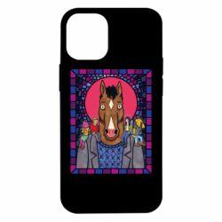 Чехол для iPhone 12 mini Bojack Horseman icon