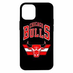 Чохол для iPhone 12 mini Великий логотип Chicago Bulls