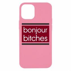 Чехол для iPhone 12 mini Bonjour bitches
