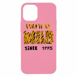 Чехол для iPhone 12 mini Born to be wild sinse 1995