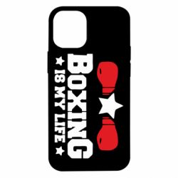 Чохол для iPhone 12 mini Boxing is my life