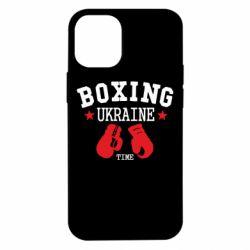 Чехол для iPhone 12 mini Boxing Ukraine