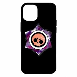 Чехол для iPhone 12 mini Brawl logo purple
