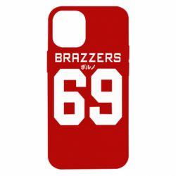 Чехол для iPhone 12 mini Brazzers 69