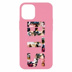 Чехол для iPhone 12 mini BTS collage
