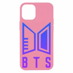 Чехол для iPhone 12 mini Bts logo gradient