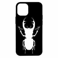 Чехол для iPhone 12 mini Bugs silhouette