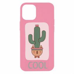 Чехол для iPhone 12 mini Cactus art