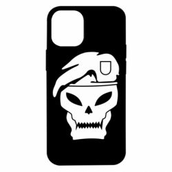 Чехол для iPhone 12 mini Call of Duty Black Ops logo